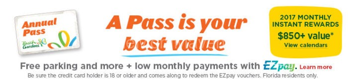 Buy A Bush Gardens Annual Pass And Get 3 Months Free The Mom Maven