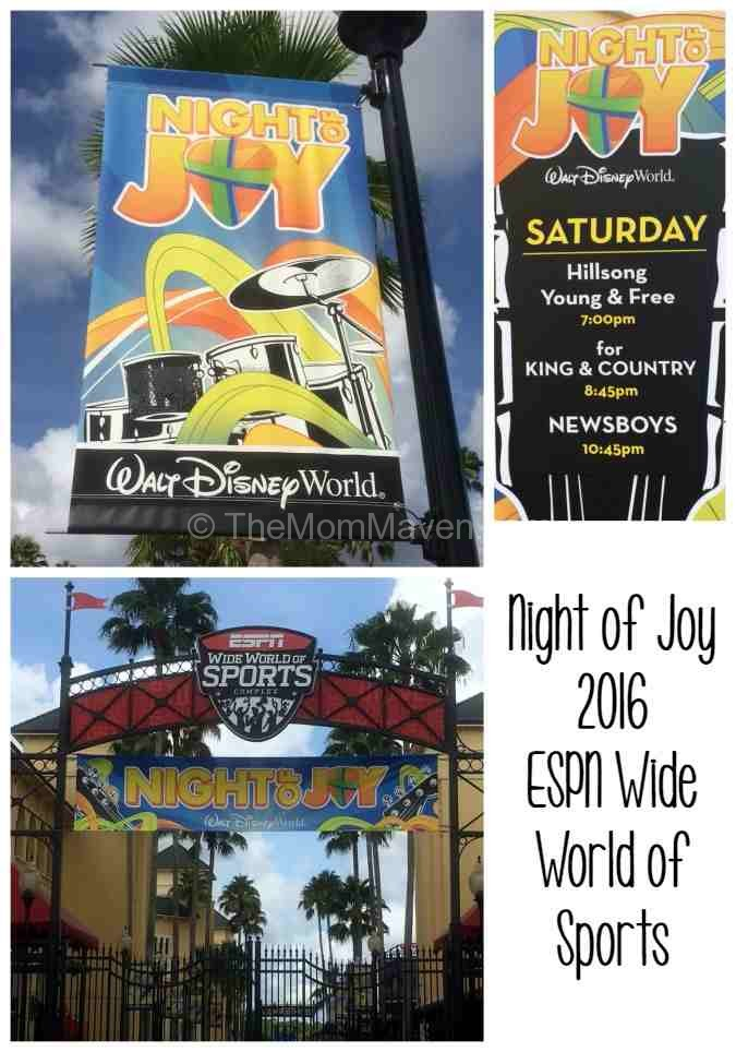 Night of Joy 2016 Walt Disney World ESPN Wide World of Sports