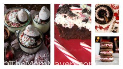 Here are 60 amazing peppermint recipes that include peppermint bark, peppermint oil, peppermint cookies and cakes and more!