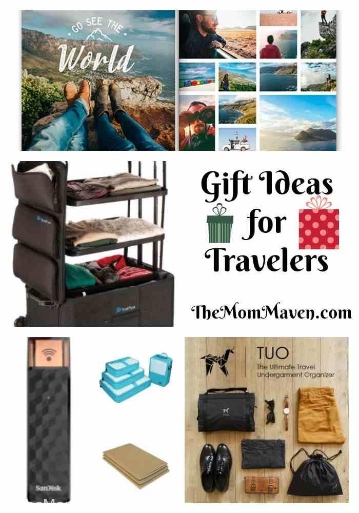 Do you have a friend or family member who travels? Here are gift ideas for travelers.