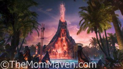 Sneak Peek at Universal's Volcano Bay