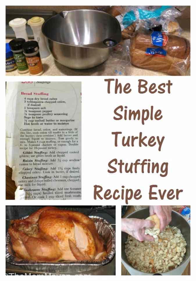 Mimi's stuffing recipe is The Best Simple Turkey Stuffing Recipe Ever
