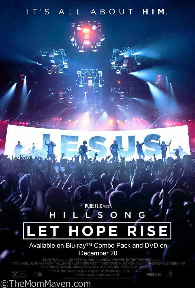 Hillsong - Let Hope Rise coming to Blu-ray DVD on December 20th.