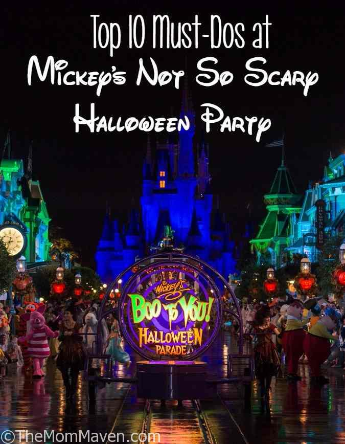 Top 10 Must Dos at Mickey's not so scary Halloween Party Top Travel Post of 2016