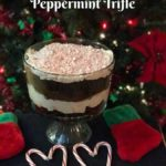 How to make a Peppermint Trifle.