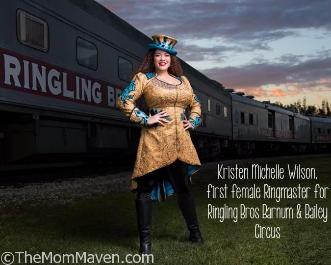 Ringling Bros hires first female ringmaster