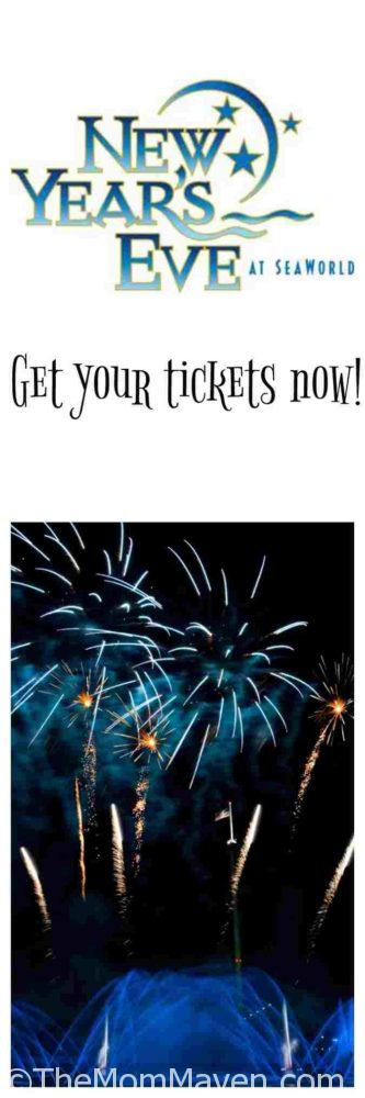 Make plans now to attend the family-friendly New Year's Eve event at SeaWorld.