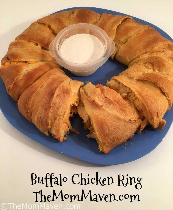 This Buffalo Chicken Ring Recipe is perfect for game day.