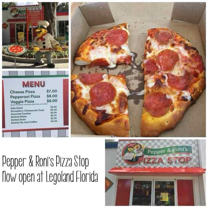 Pepper & Roni's Pizza Stop Legoland Florida