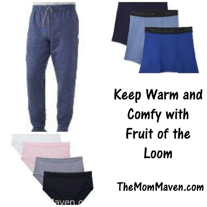 Fruit of the Loom breathable underware is available for men and women in a variety of styles.