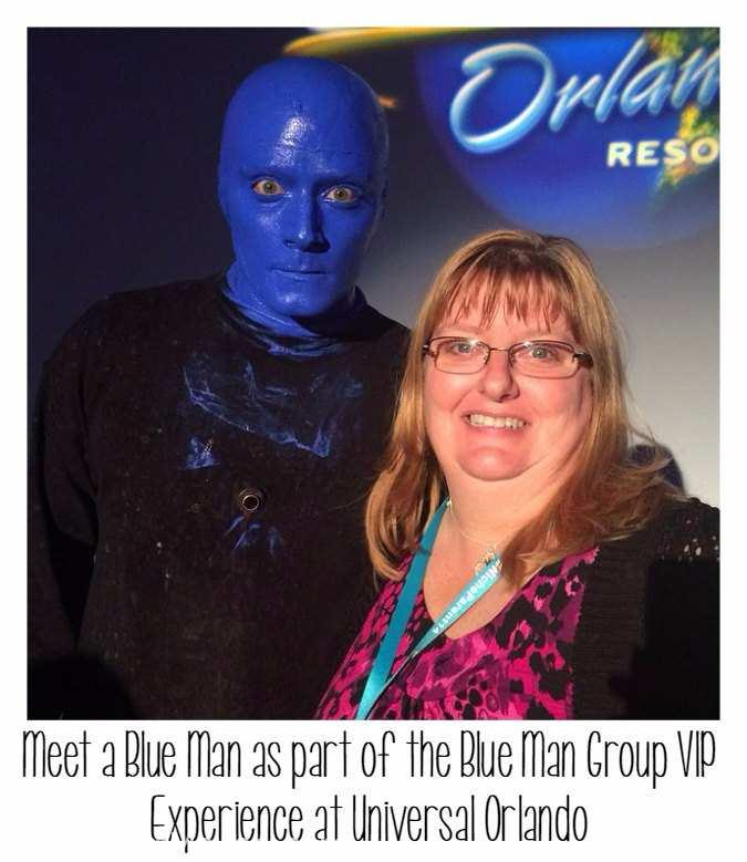 Enjoy the VIP treatment with the Blue Man Group VIP Experience at Universal Orlando.