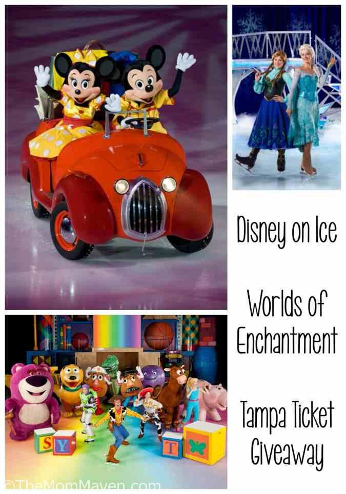 From wheels to waves, icy wonderlands to infinity and beyond, see some of your family's favorite Disney moments come to life at Disney On Ice presents Worlds of Enchantment.