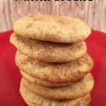 These Simple Snickerdoodles are an easy cookie to whip up anytime.