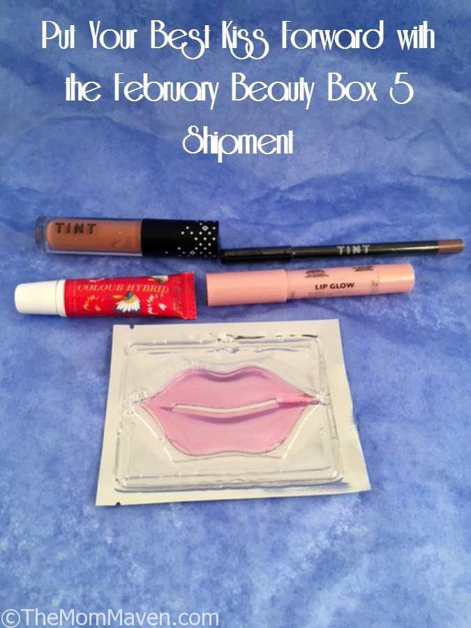 Put Your Best Kiss Forward with the February Beauty Box 5 Shipment