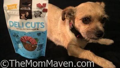 Mushu Enjoys Her Rachel Ray Nutrish DeliCuts Pepperoni Treats