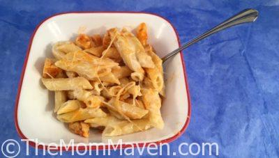 Buffalo Alfredo Chicken Casserole