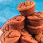 Easy to make Gluten Free Peanut Butter Banana Blender Muffin recipe