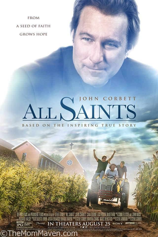 ALL SAINTS is based on the inspiring true story of salesman-turned-pastor Michael Spurlock (John Corbett), the tiny church he was ordered to shut down, and a group of refugees from Southeast Asia.