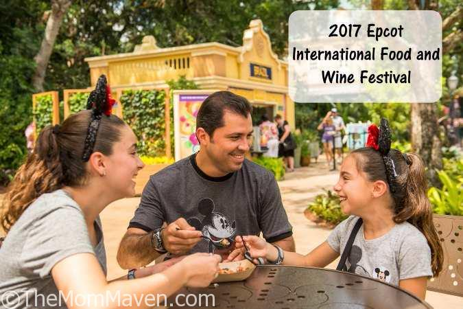 2017 Epcot International Food And Wine Festival The Mom Maven