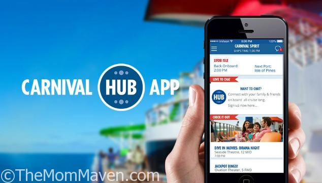 How to Use the Carnival Hub App