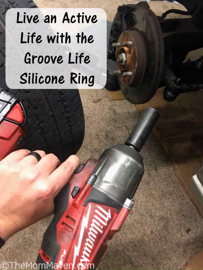 Live an Active Life with the Groove Life Silicone Ring.