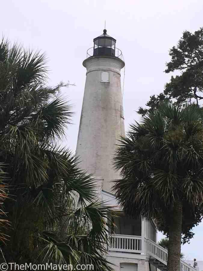 The St Marks Lighthouse in Wakulla County, Florida.