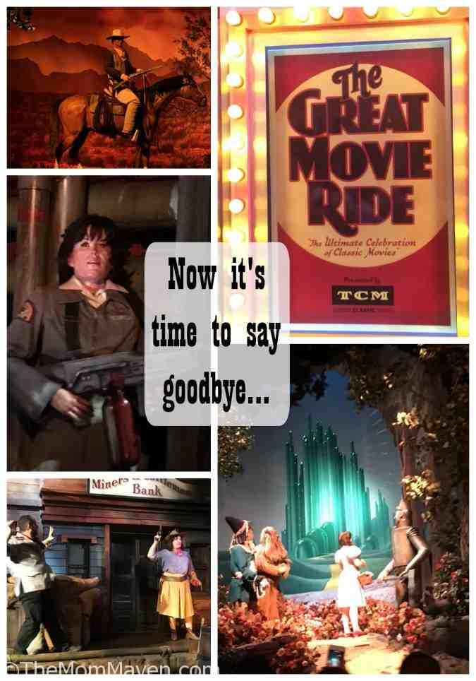 On July 15, 2017 at D23 it was announced that The Great Movie Ride would be closing forever on August 13, 2017. This announcement left the Disney community in shock and sadness.