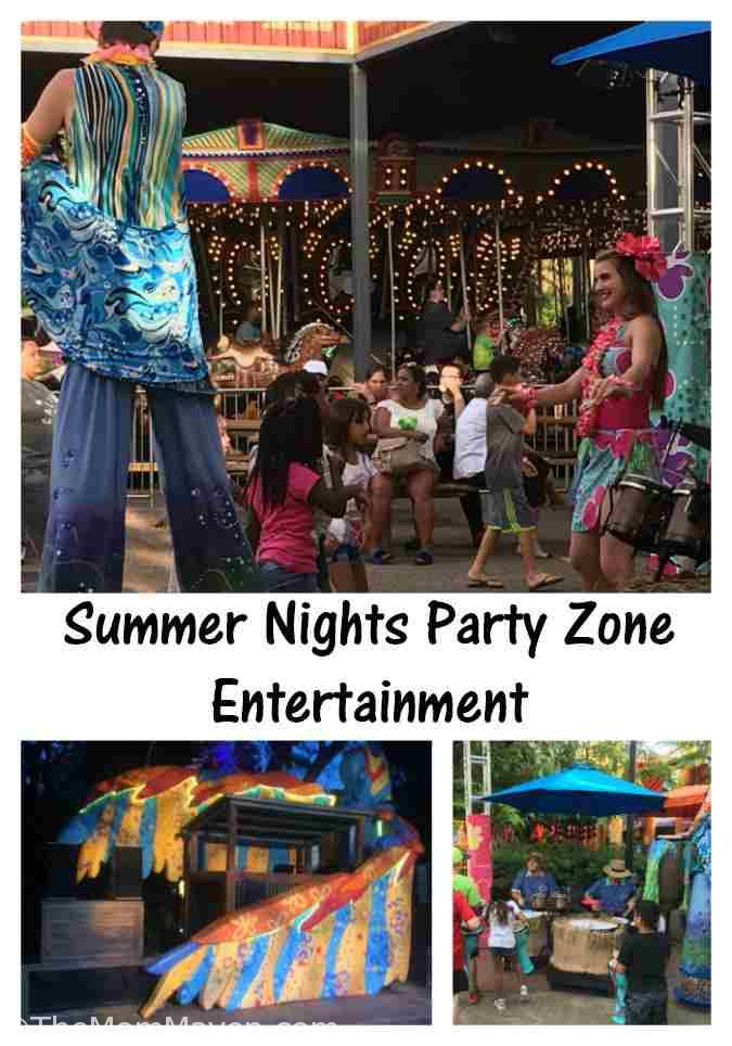 Our Visit to Busch Gardens Summer Nights entertainment