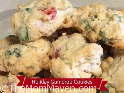 Holiday Gumdrop Cookies Recipe
