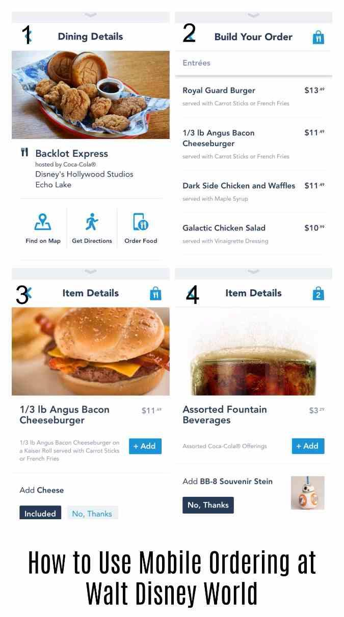 Using Mobile Ordering at Walt Disney World is a great way to save time and skip the lines at counter service restaurants.