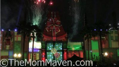 Enjoying Christmas at Disney's Hollywood Studios