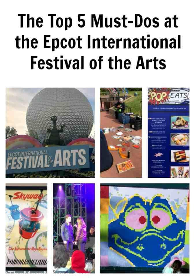 Now that I have had the opportunity to enjoy a day at this year's festival, I thought I would share with you the newest installment in my Disney Must-Dos series, The Top 5 Must-Dos at the Epcot International Festival of the Arts.