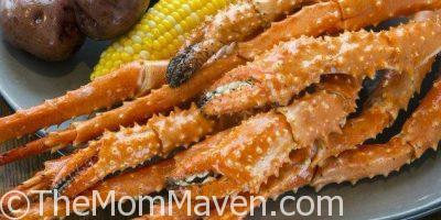 Enjoy a special Rooftop Crab Dinner at Paddlefish February 21st