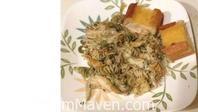 Crockpot Pesto Chicken