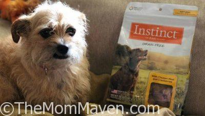 Mushu Reviews Instinct Dog Treats by Nature's Variety
