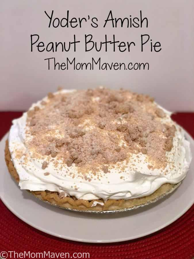 Yoder\u0026#39;s Amish Peanut Butter Pie Recipe - The Mom Maven