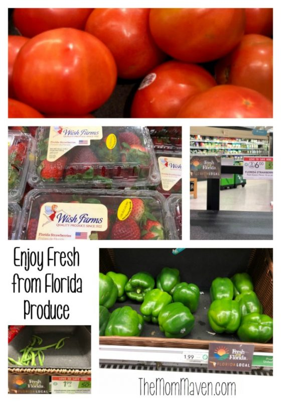One of my top 3 favorite reasons I love living in Florida is that I can get fresh from Florida produce all year long, there is always something delicious in season!