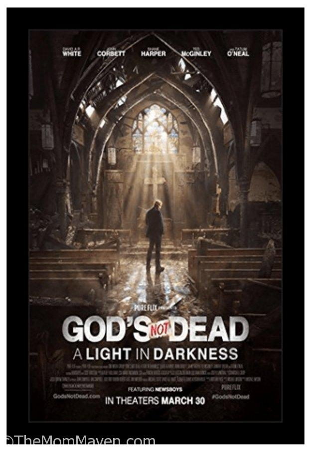 GOD'S NOT DEAD: A LIGHT IN DARKNESS is an inspirational drama that centers on Pastor Dave (David A.R. White) and the unimaginable tragedy he endures when his church, located on the grounds of the local university, is burned down.