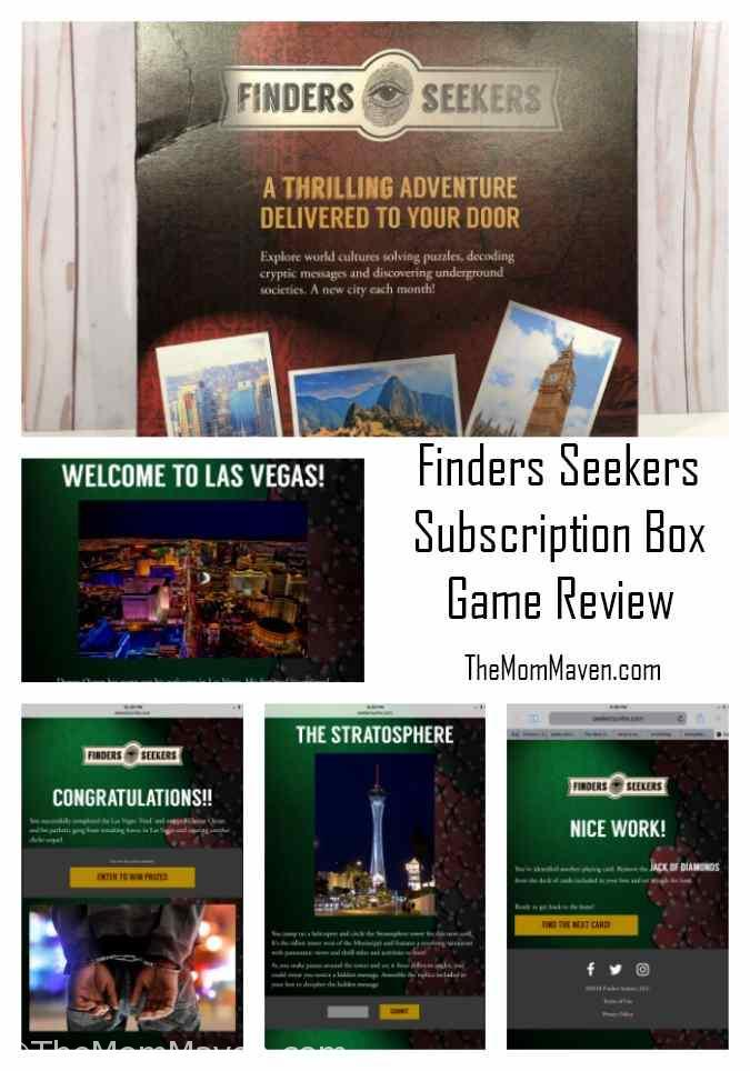 We love a good game that we can all enjoy. Now that the kids are adults our game choices have, of course, matured. We have also enjoyed doing Escape Rooms together. We just finished the April Finders Seekers Subscription Box Game and we had a blast! This is almost like an escape room in your own home.
