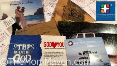 Memory Cross is an origami-like card that has lots of applications like Scripture memorization, Gospel tracts, as well as all types of advertising. Once you get a Memory Cross in your hands it is hard to put down, you just keep folding it over and over again.
