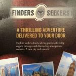 Finders Seekers Subscription Box Game Review