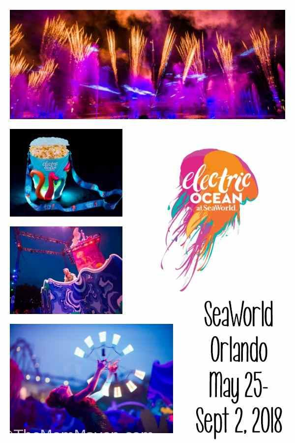 Joining SeaWorld Orlando's already impressive event lineup, Electric Ocean brings longer park hours and allows guests to voyage into an exotic underwater world filled with dazzling lights, electrifying dance music and a brilliant evening energy that sparks as the sun sets.