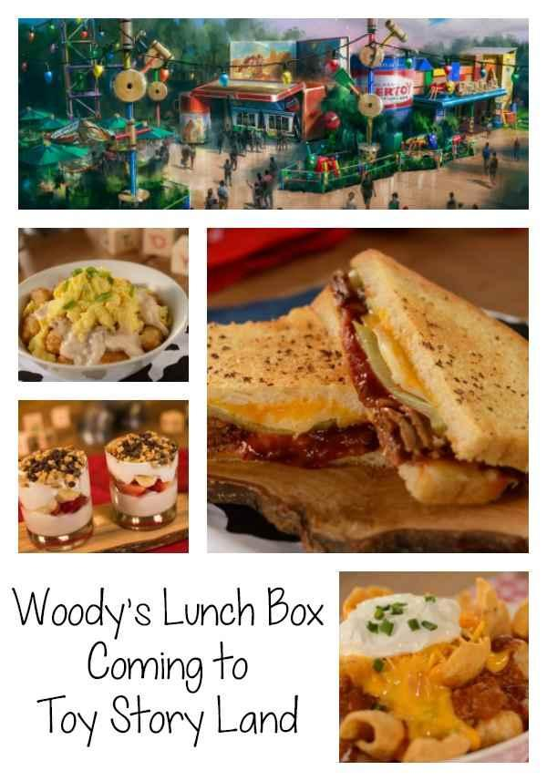 With the opening of Toy Story Land at Disney's Hollywood Studios on June 30, 2018 comes the opening of a new, fun Quick Service Restaurant that I cannot wait to visit. Woody's Lunch Box will be serving up classic on-the-go menu items with a nostalgic and creative twist.