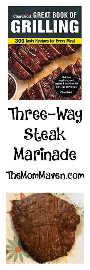 This is a three-way steak marinade recipe because with just a few tweaks you can make it Classic, Mexican, or Asian. I made the Classic version for my first try but I will be experimenting with both as the summer goes on.