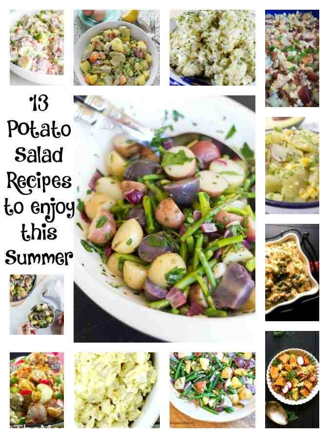 I hope at least one of these 13 Potato Salad recipes makes its way onto your table this summer.