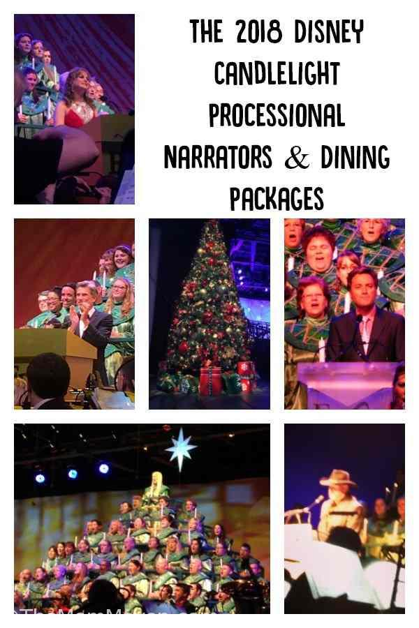 The Disney Candlelight Processional takes place in the American Garden Theater in Epcot. This year the processional starts on Thanksgiving Day, November 22nd and runs through December 30th.