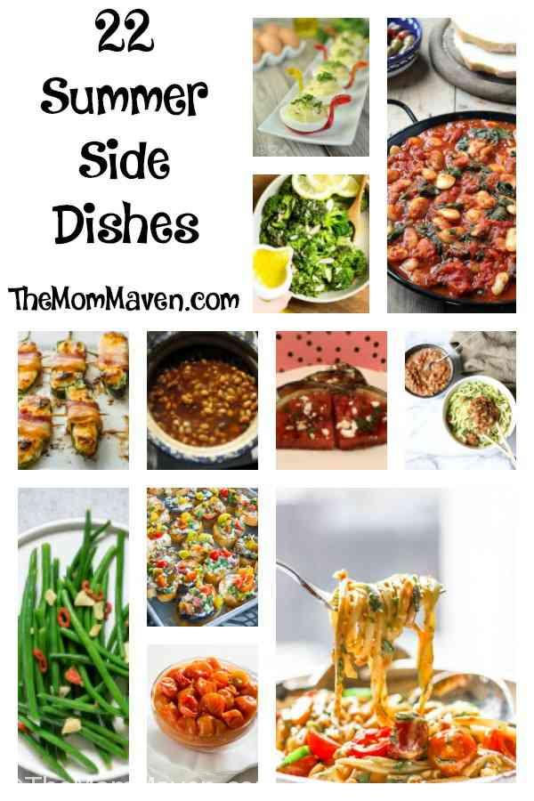 Welcome to part 4 of my Summer Salads and Sides series! Today we have 22 Summer Side Dishes for you to add to your meal plan.
