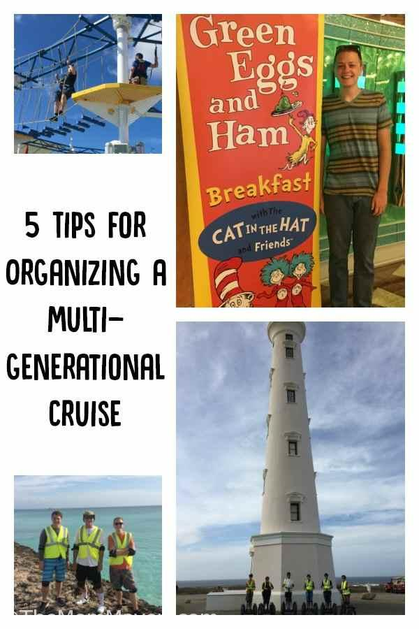 5 Tips for Organizing a Multigenerational Cruise and still love your friends and family by the time you board the ship.