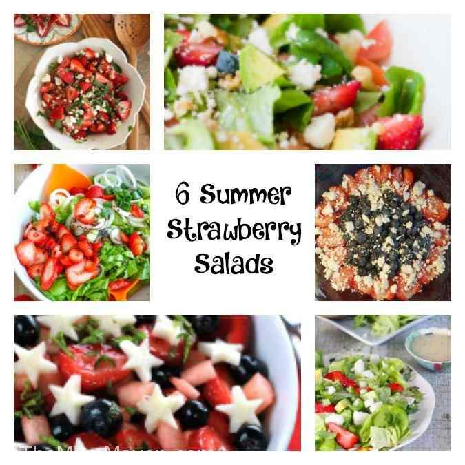 We've made it to part five of my Summer Salads and Sides Series! Today we are talking about fresh summer fruit salad recipes.