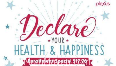 Plexus Independence Day Promotion